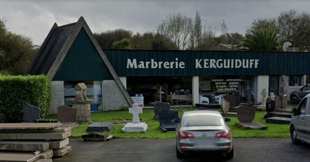 Photographie de la Marbrerie Kerguiduff à Taulé
