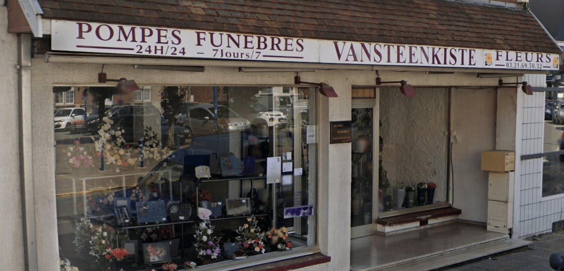 Photographie de la  Pompes funèbres Vansteenkiste de la ville de Wingles