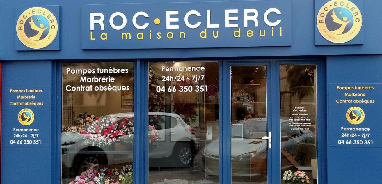 Photographies des Pompes Funèbres Roc'Eclerc au Grau-du-Roi