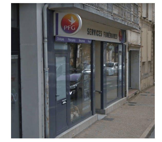 Photographie de la Pompes Funèbres Générales à Bergerac
