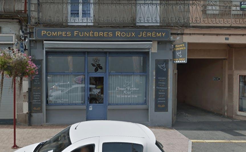 Photographie de la Pompes Funèbres Roux à Langogne