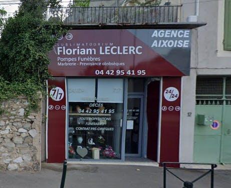 Photographie de la POMPES FUNÈBRES Florian LECLERC à Aix-en-Provence