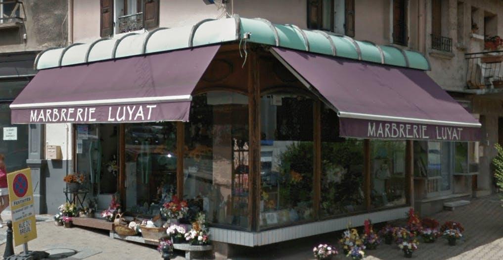 Photographie de la Marbrerie Luyat dans La Mure