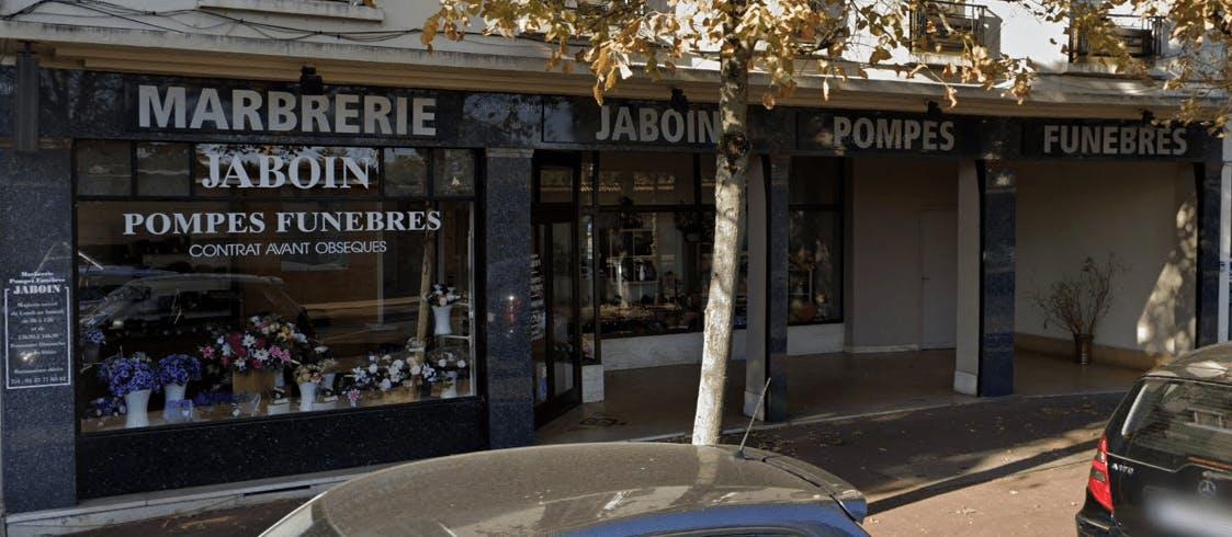 Photographie Pompes Funèbres Jaboin de Saint-Cloud