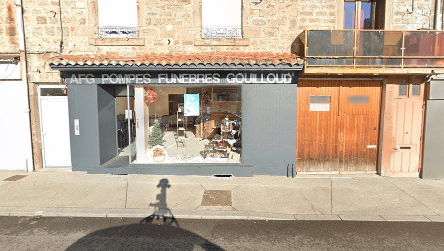 Photographie de la Pompes Funèbres Gouilloud-AFG à Saint-Chamond