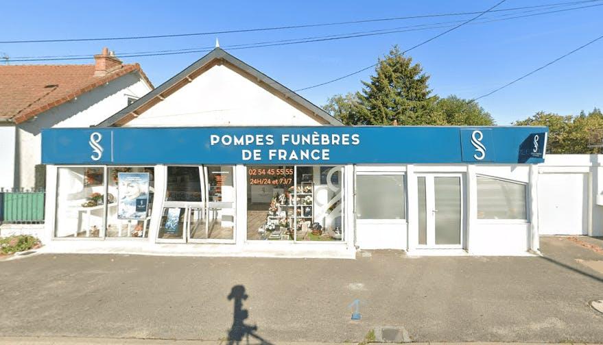 Photographie Pompes Funèbres de France Blois de La Chaussée-Saint-Victor