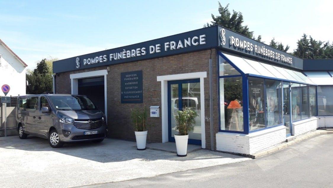 Photographies des Pompes Funèbres de France à Valenciennes