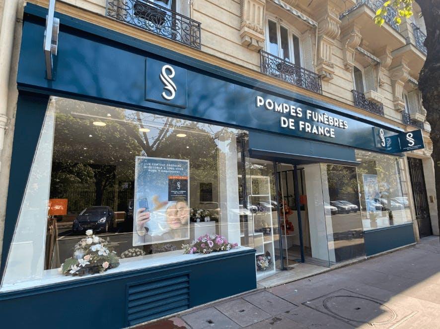 Photographie de Pompes Funèbres de France de la ville de Levallois-Perret