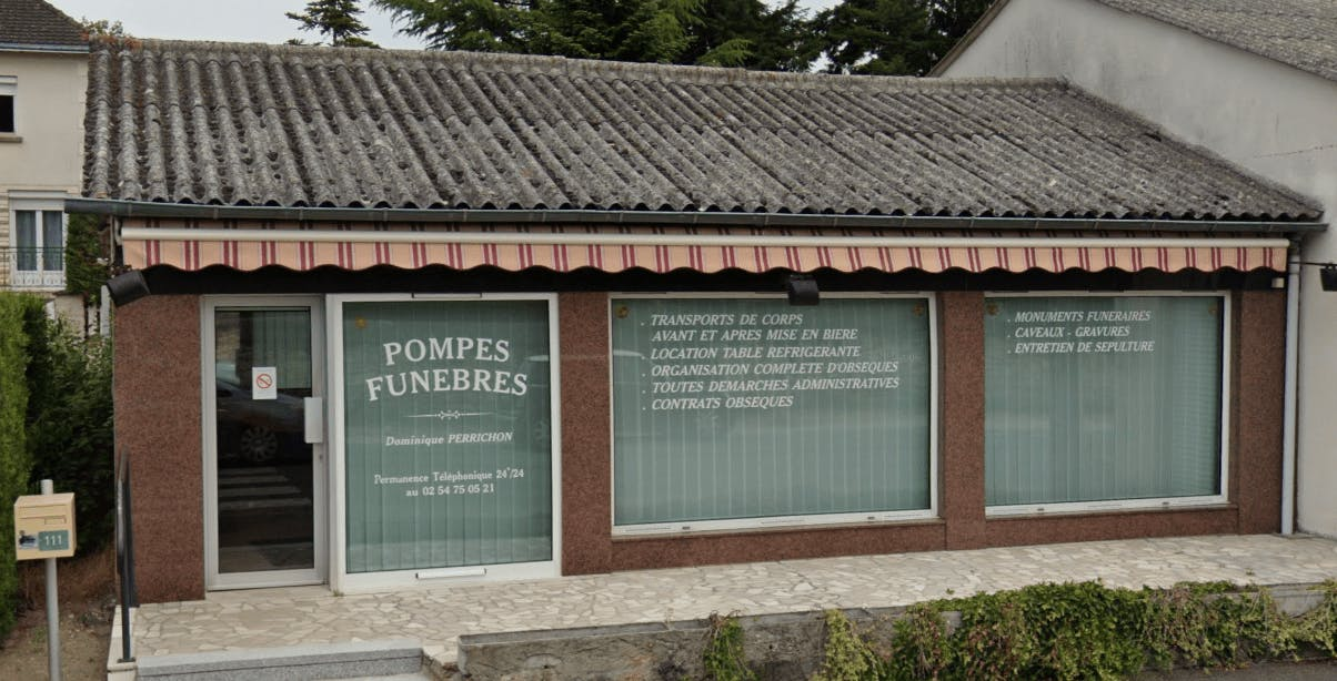 Photographie Pompes Funèbres Maison Perrichon de Noyers-sur-Cher