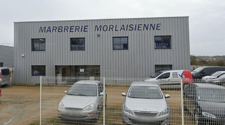 Photographie de la Marbrerie Morlaisienne à Saint-Martin-des-Champs