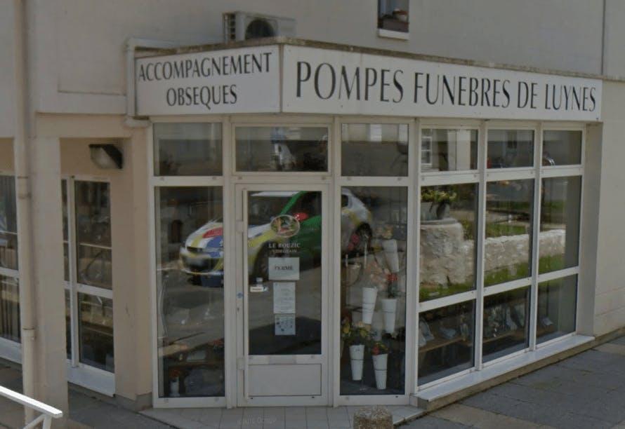 Photographie Pompes Funèbres Le Rouzic de Luynes