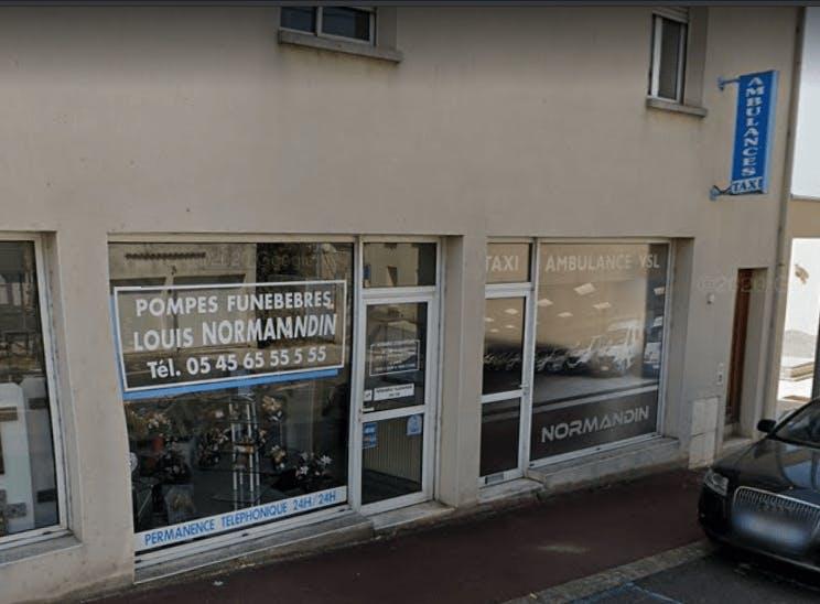 Photographie Pompes Funèbres NORMANDIN de Ruelle-sur-Touvre