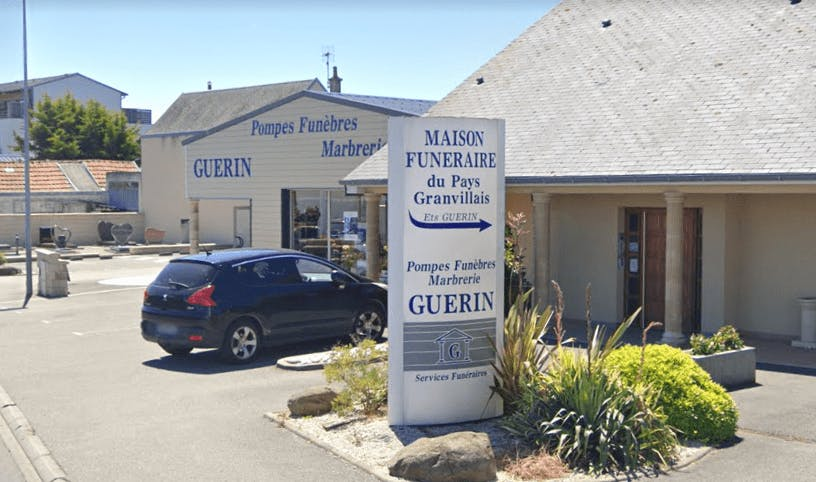 Photographie de la Pompes Funèbres et Marbrerie Guerin à Granville