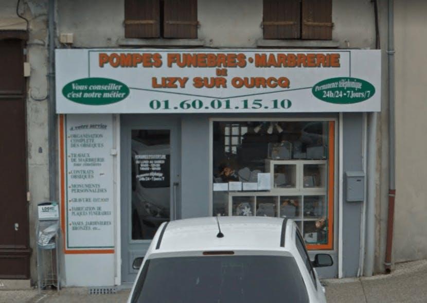 Photographie Pompes Funèbres Marbrerie de Lizy-sur-Ourcq