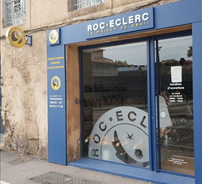 Photographie de la Pompes Funèbres ROC ECLERC à Aix-en-Provence