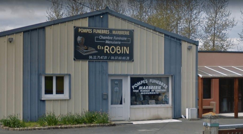 Photographie de la Pompes Funèbres Robin à Louargat