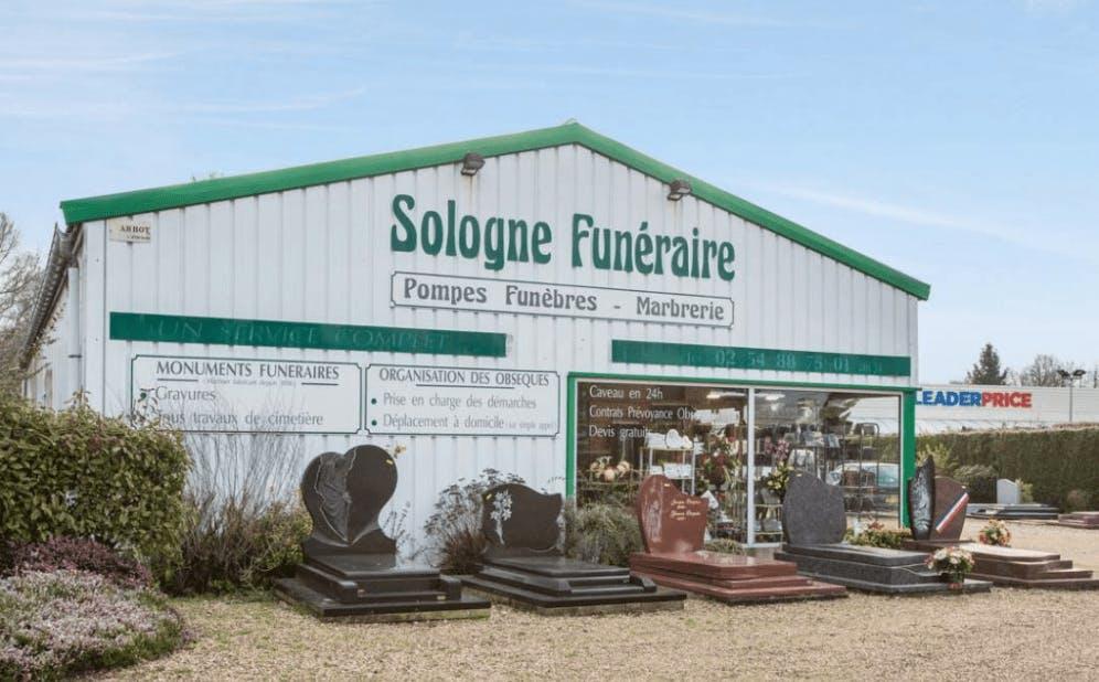 Photographie Sologne Funéraire de Lamotte-Beuvron