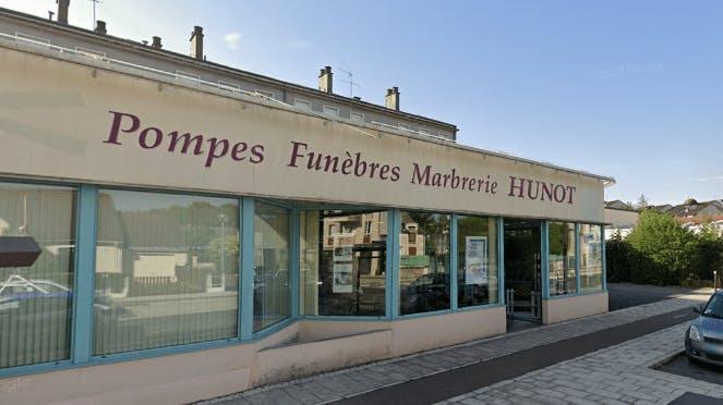 Photographie de la Pompes Funèbres et Marbrerie Hunot à Bourges