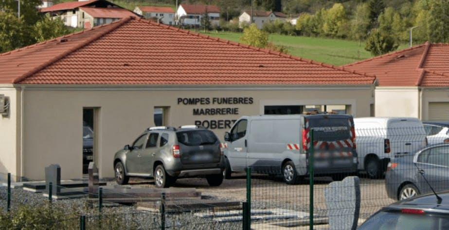 Photographie de la Marbrerie Funéraire Robert à Pont-à-Mousson