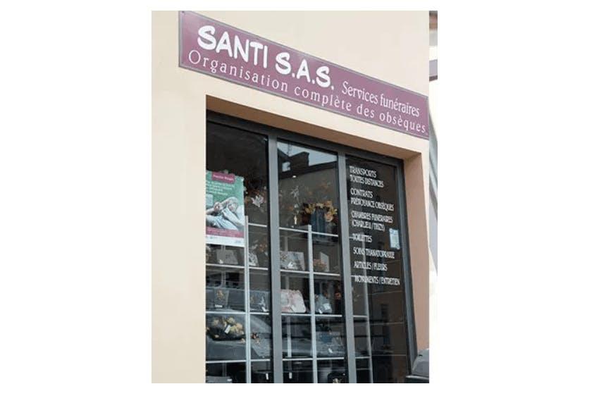 Photographie de la Pompes Funèbres Santi à Thizy-les-Bourgs