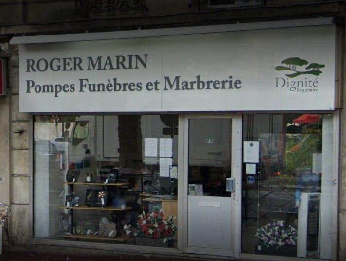Photographies des Pompes Funèbres Marbrerie Roger Marin à Clichy