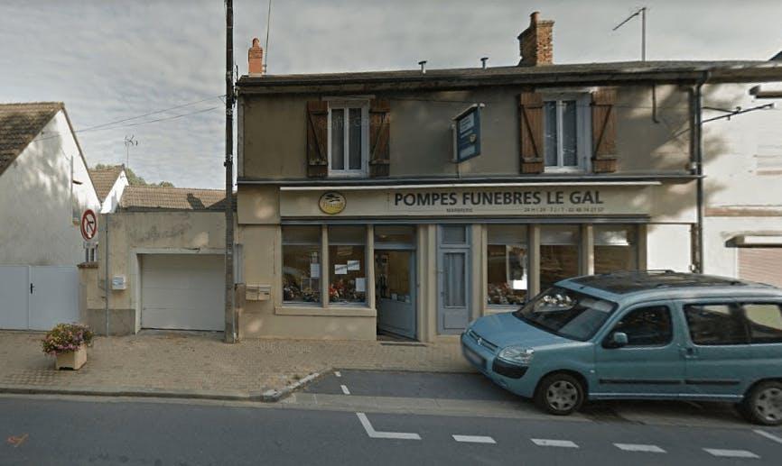 Photographie de la Pompes Funèbres et Marbrerie Le Gal dans La Guerche-sur-l'Aubois