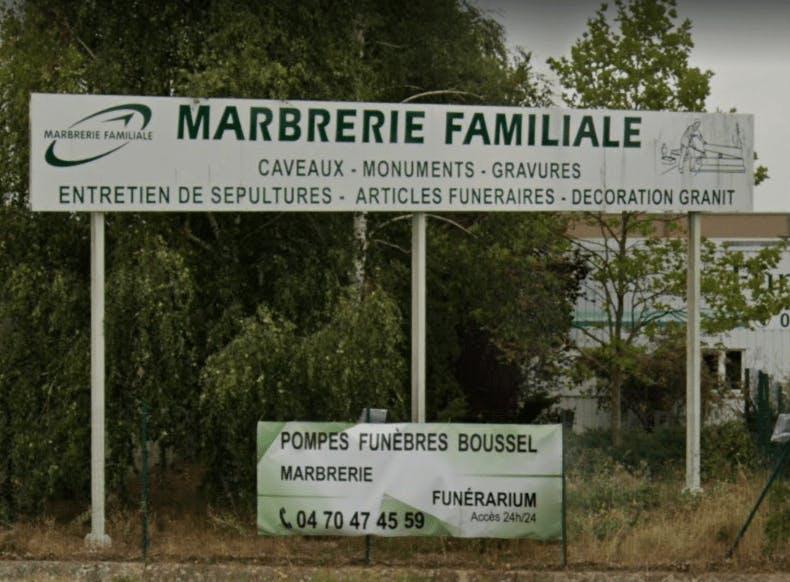 Photographie La Maison des Obsèques-Pompes Funèbres Boussel de Varennes-sur-Allier