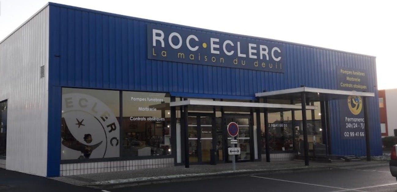Photographies des Pompes Funèbres Roc'Eclerc à Chantepie
