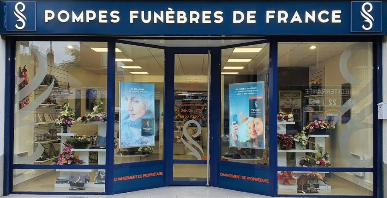 Photographies des Pompes Funèbres De France à Amiens