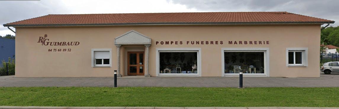 Photographie de Pompes Funèbres Robert Guimbaud de la ville de Hauterives