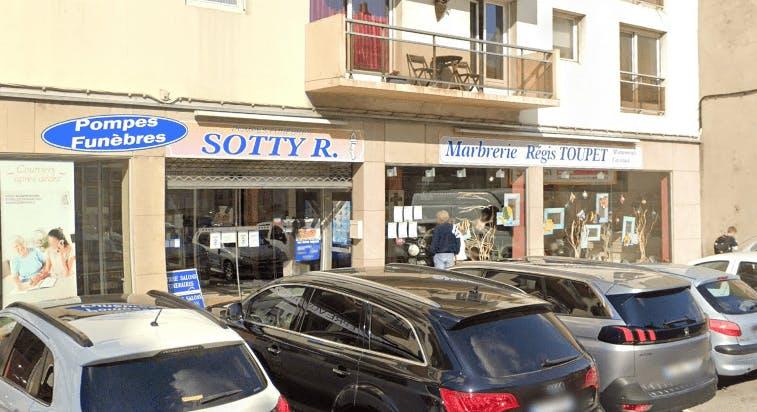 Photographie de la Pompes Funèbres et Marbrerie Toupet-Sotty à Boulogne-sur-Mer