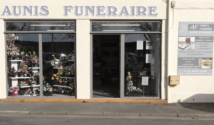 Photographie de la Pompes Funèbres Aunis funéraires à La Rochefort
