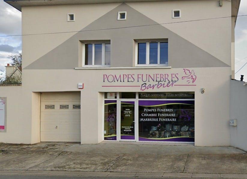 Photographies des Pompes Funèbres Barbier à Fleury-sur-Orne