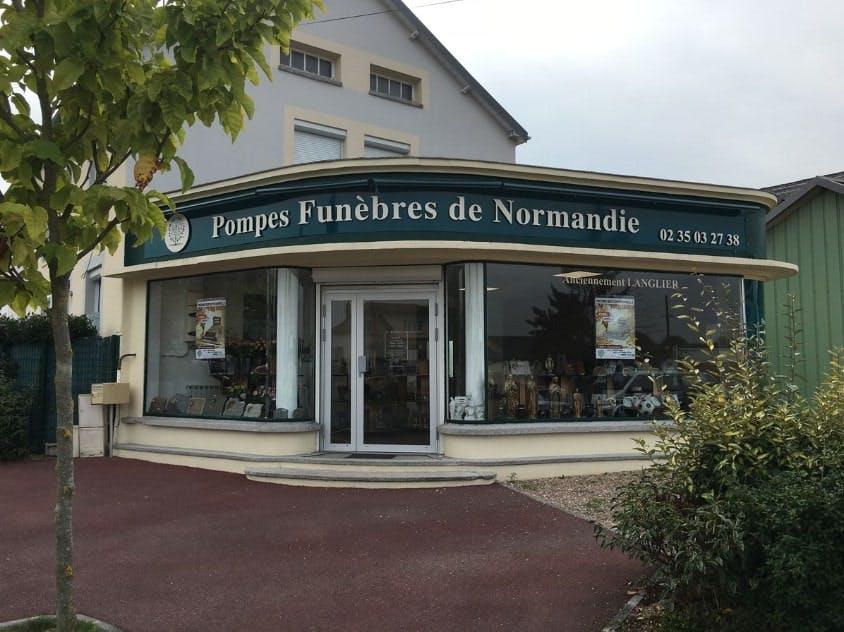 Photographies des Pompes Funèbres Marbrerie de Normandie au Petit-Quevilly