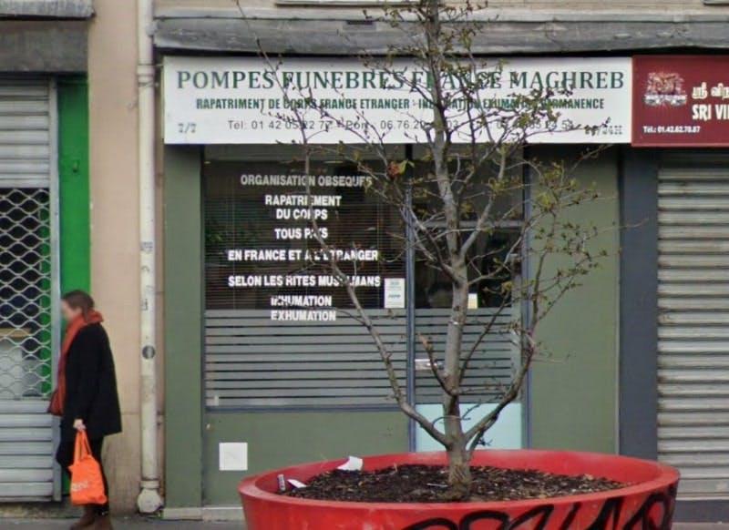 Photographies des Pompes Funèbres France Maghreb à Paris