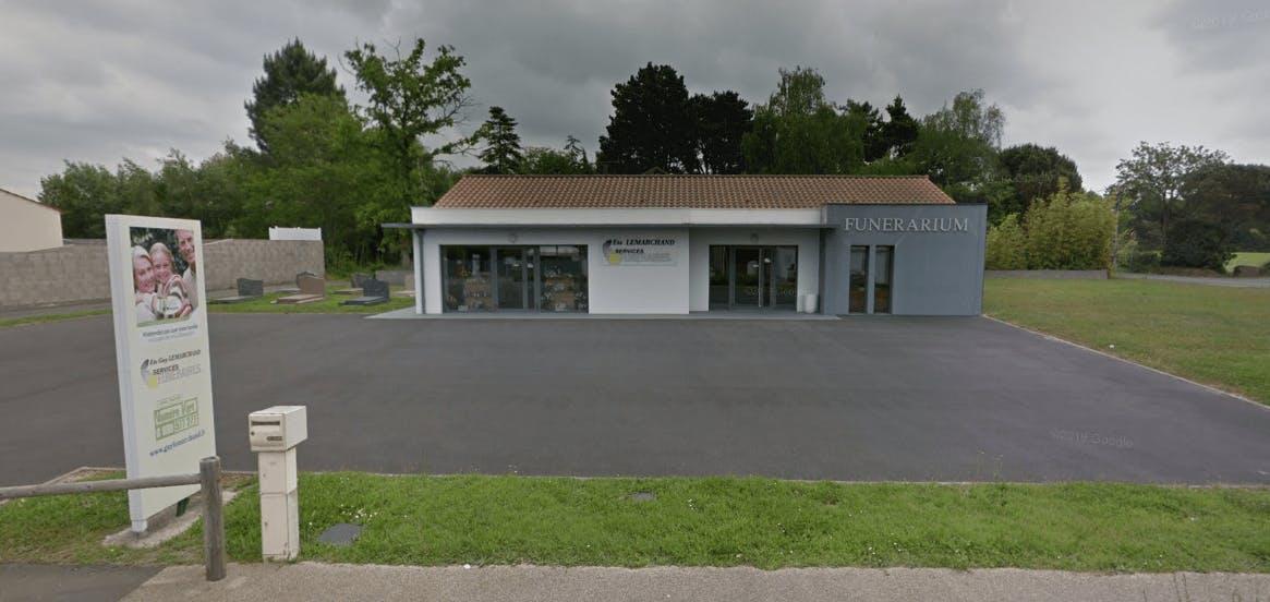 Photographie de la Pompes Funèbres Lemarchand - La Maison des Obsèques de la ville de Soullans