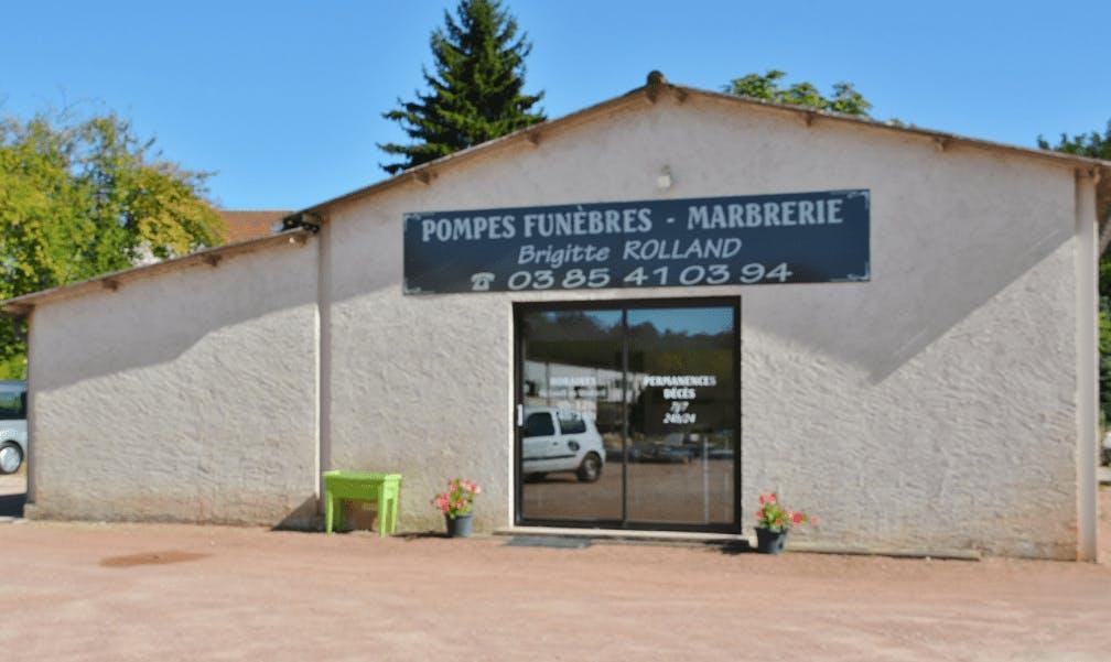 Photographie Pompes Funèbres Marbrerie Brigitte ROLLAND d'Ouroux-sur-Saône