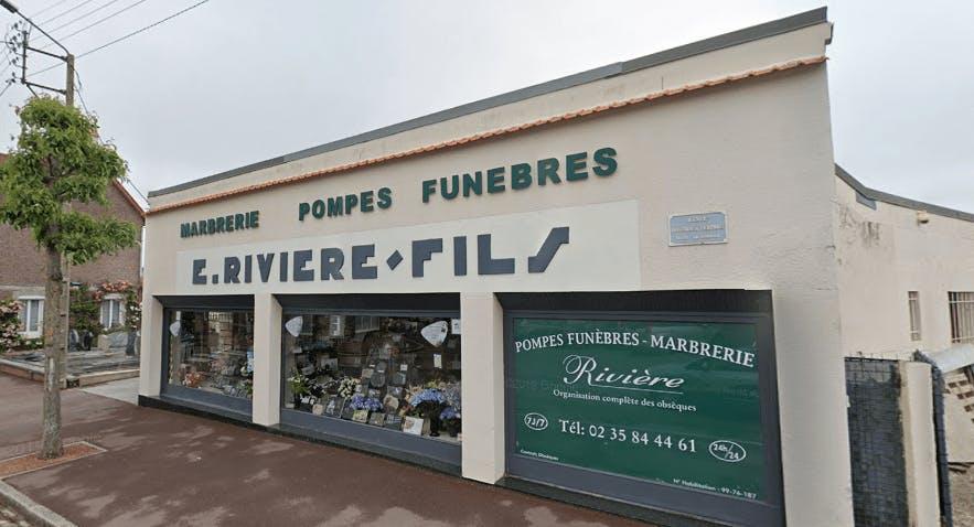 Photographie Pompes Funèbres Rivière de Dieppe