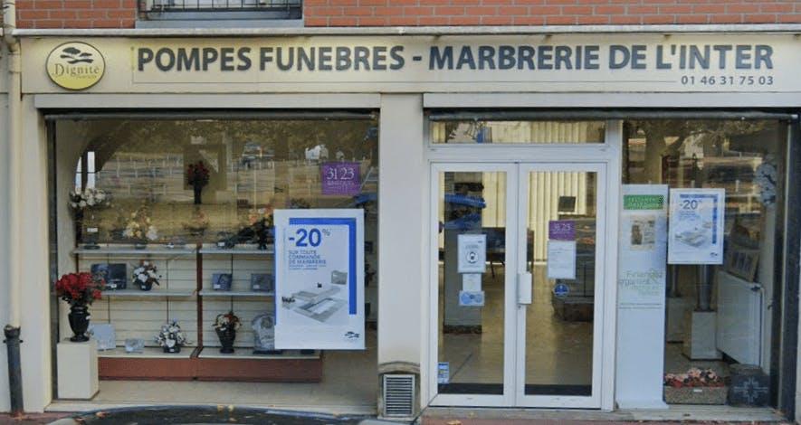 Photographie Pompes Funèbres et Marbrerie de L Inter Clamart