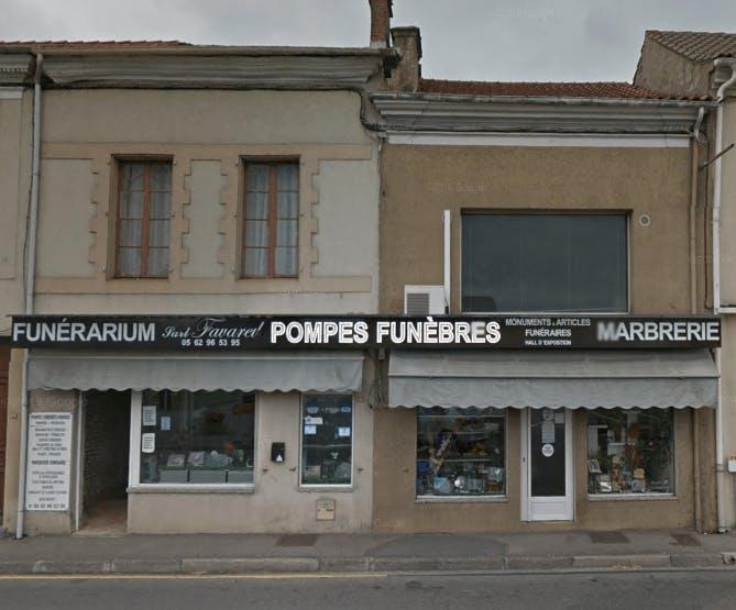 Photographie de la Pompes Funèbres et Marbrerie Favarel de la ville de Rabastens-de-Bigorre