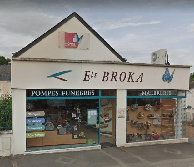 Photographie de Pompes Funèbres et Marbrerie Broka de Cloyes-sur-le-Loir