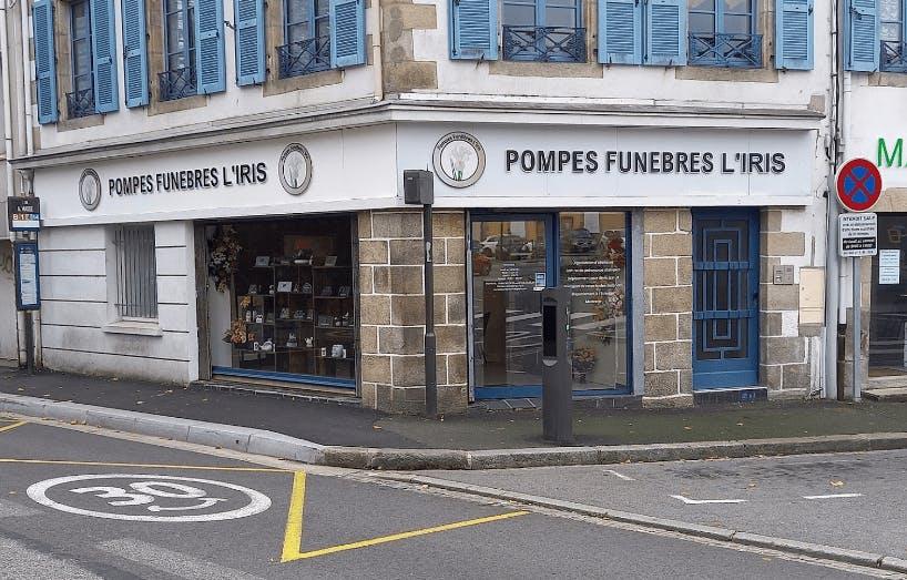 Photographie de la Pompes Funèbres L'Iris à Quimper