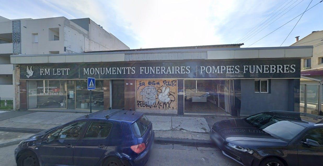 Photographies des Pompes Funèbres Lannone Miletto à Nîmes