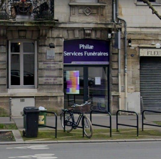 Photographie Pompes Funèbres Vernay Raymond de Bordeaux