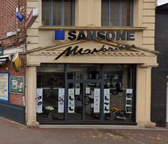 Photographies de la Marbrerie Sansone à Tourcoing