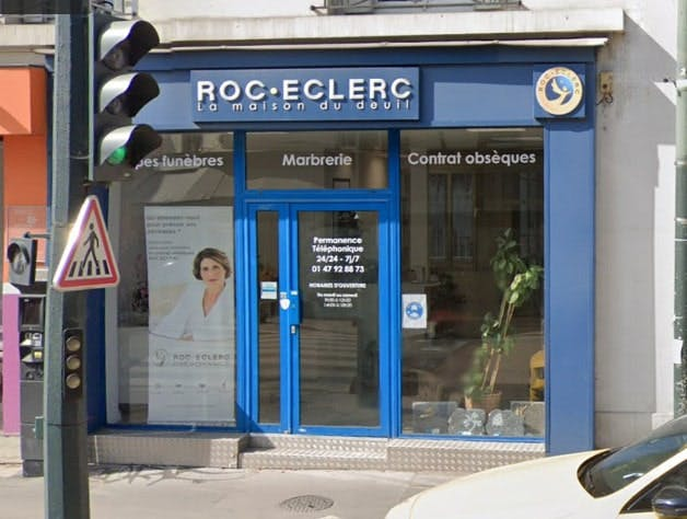 Photographies des Pompes Funèbres Roc'Eclerc à Asnières-sur-Seine