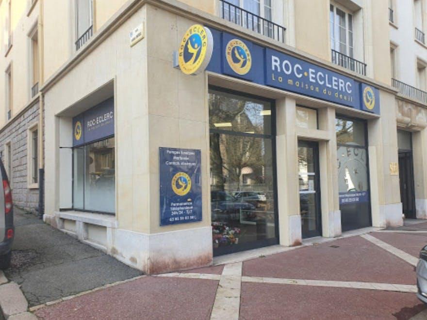 Photographie de Pompes Funèbres Roc-Eclerc sur Le Creusot