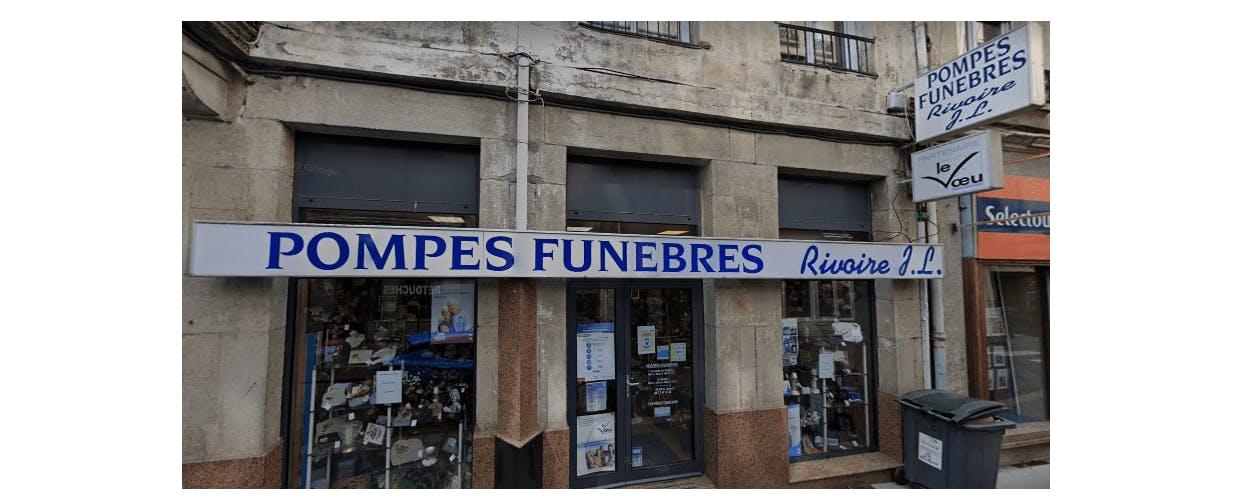 Photographie de la Pompes Funèbres Rivoire JL à Saint-Etienne