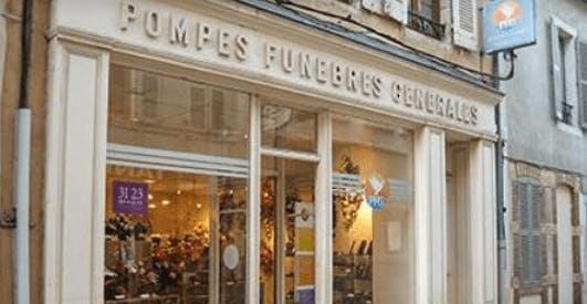 Photographie de la Pompes Funèbres Générales de la ville de Nuits-Saint-Georges