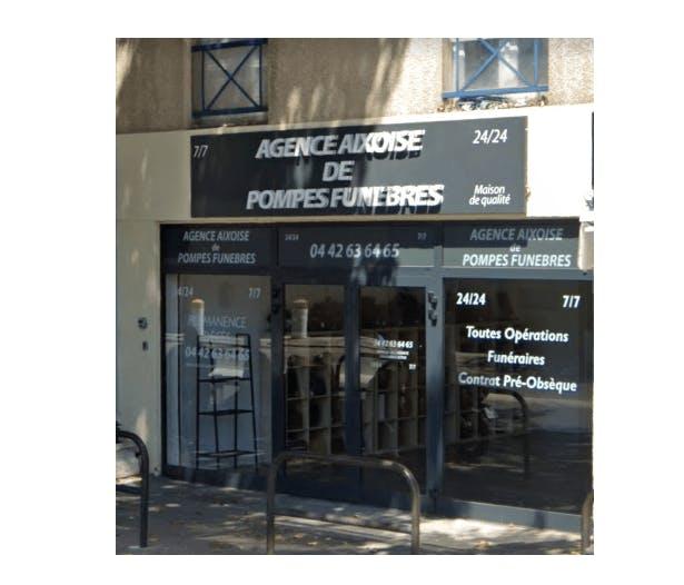 Photographie de l'Agence Aixoise de Pompes Funèbres à Aix-en-Provence